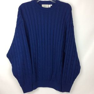 McCULLEY'S BLUE SWEATER, MADE IN ITALY 🇮🇹❤️.